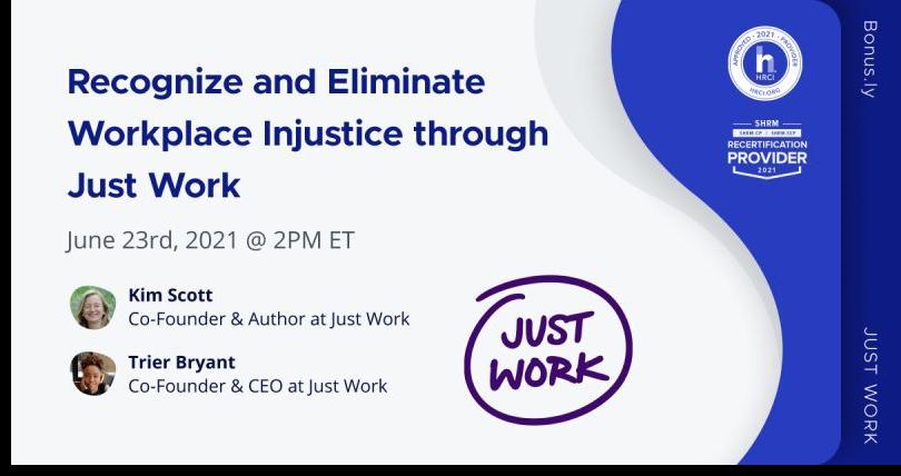 Eliminate Workplace Injustice