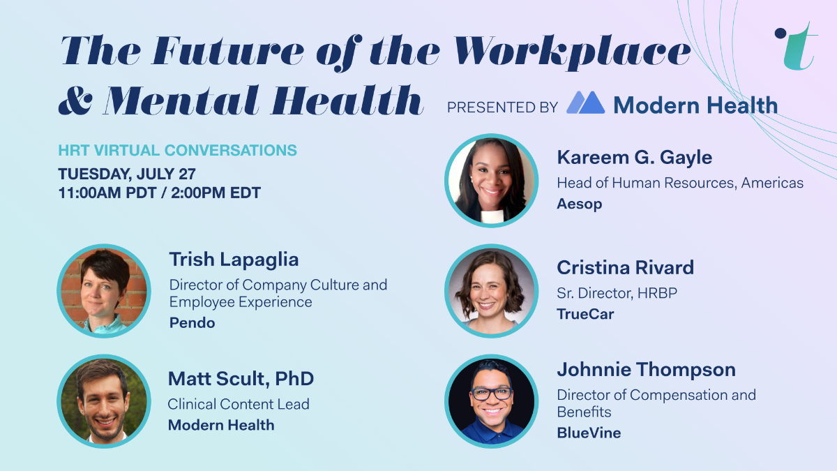 Future of the Workplace & Mental Health