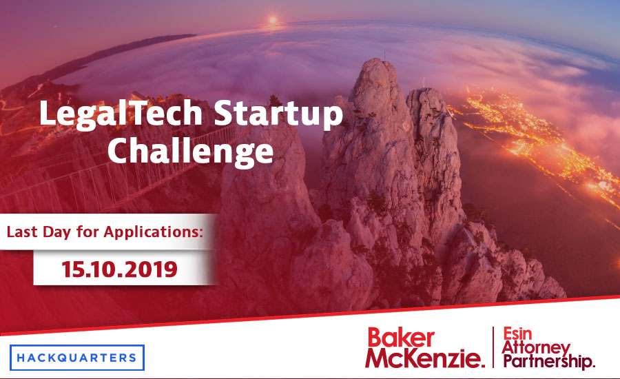 """Hackquarters will be holding LegalTech Startup Challenge. But do not hesitate to apply for the event, as it is not purely for """"law"""" startups."""