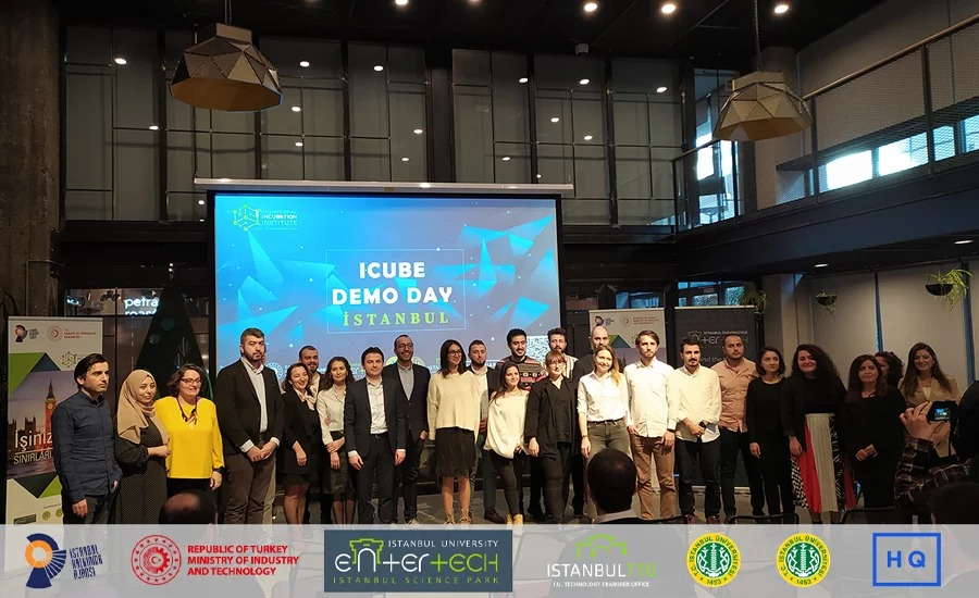 The International Acceleration Program ICUBE owned by Entertech & Istanbul University and supported by ISTKA was left behind with demo day.