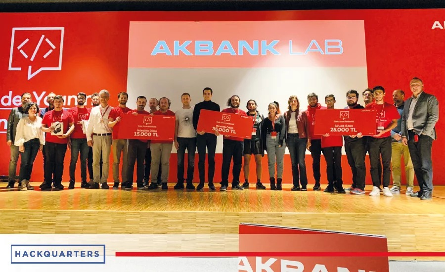 Learn more about Akbank Hackathon, where 20 teams selected out of 500+ applications coded on 15-17 November 2019.