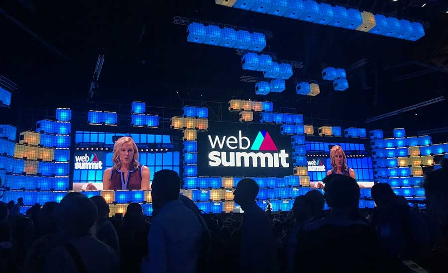 Web Summit is the biggest tech conference in Europe, and it aims to bring the global tech industry together.