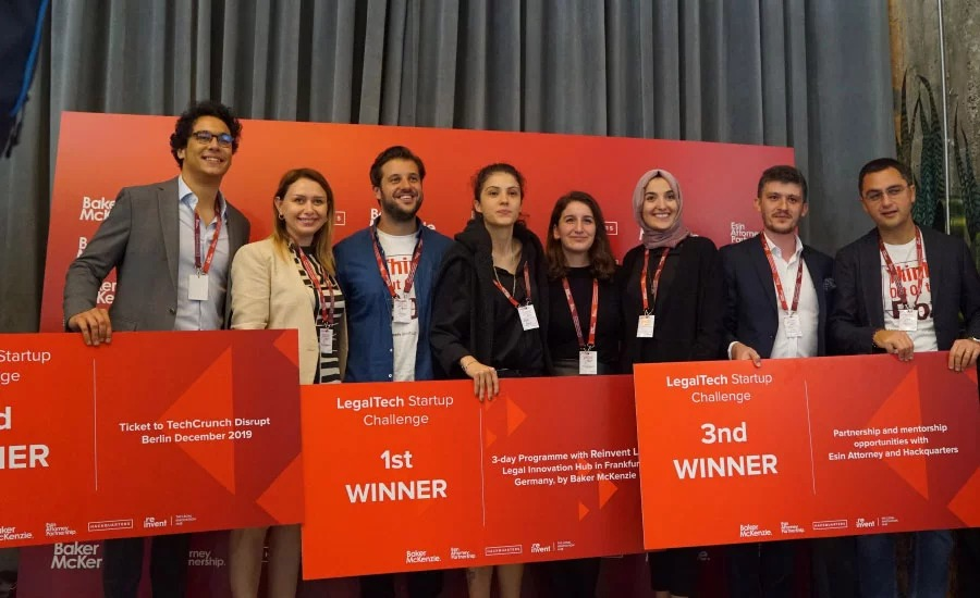 Here are the winners of LegalTech Startup Challenge which aims to help the legal firms to improve their innovation process.