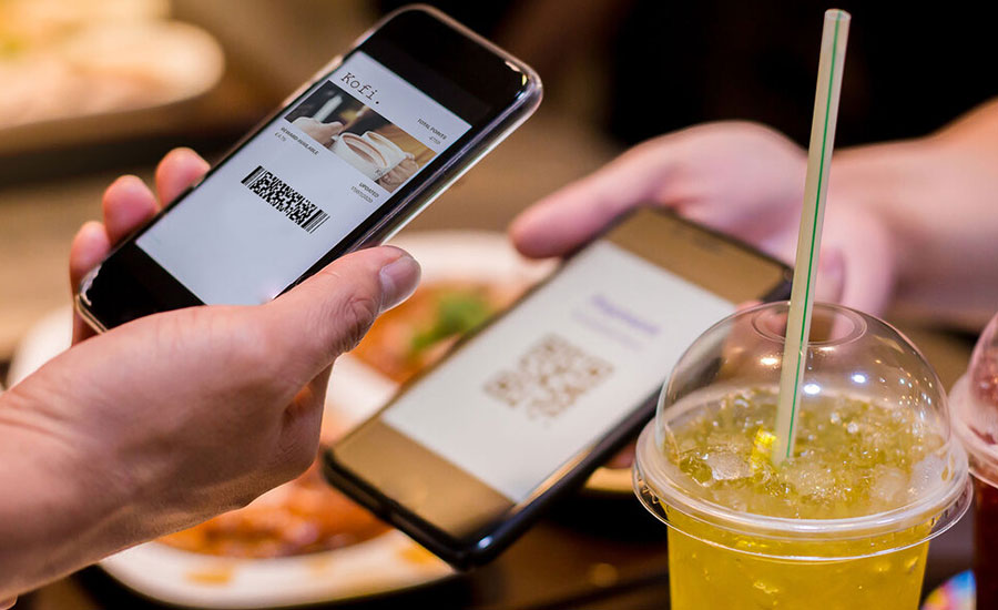 A laminated menu, touched by numerous different customers, was no longer acceptable, meaning it was time for the QR code to step up.