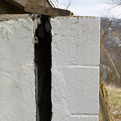 Failing Foundation Wall