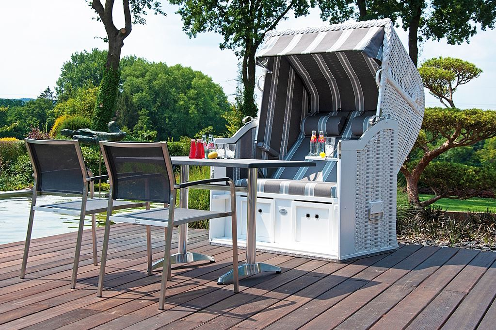 Popular German Beach Basket Chair, German Beach Wicker Cabana Chair, German Beach Wicker Chair