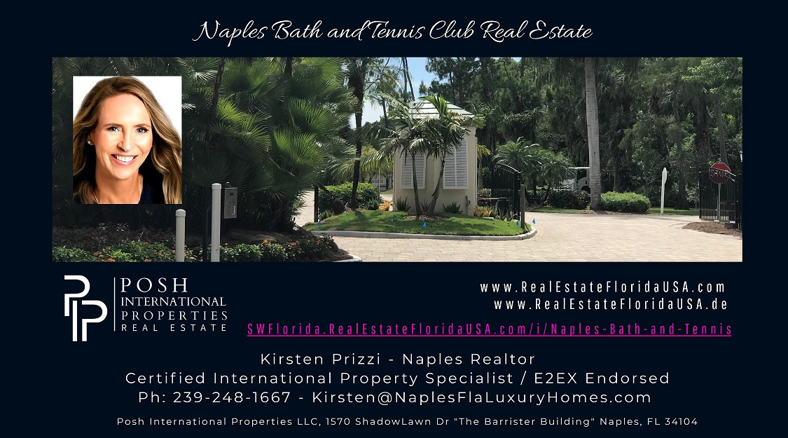 Naples Bath and Tennis Club Real Estate for sale