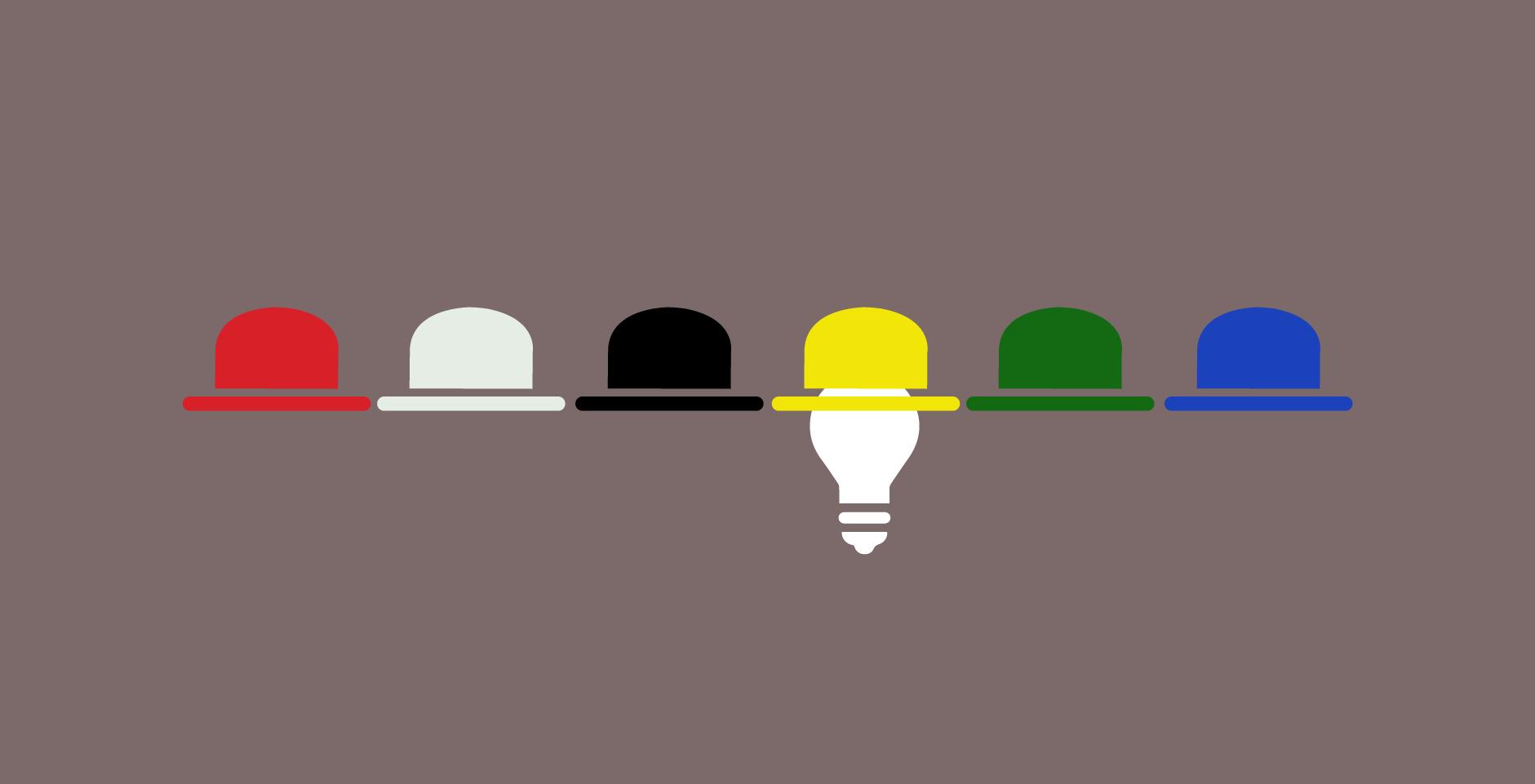 Innovation & Design thinking: Six Thinking Hats skills/tool