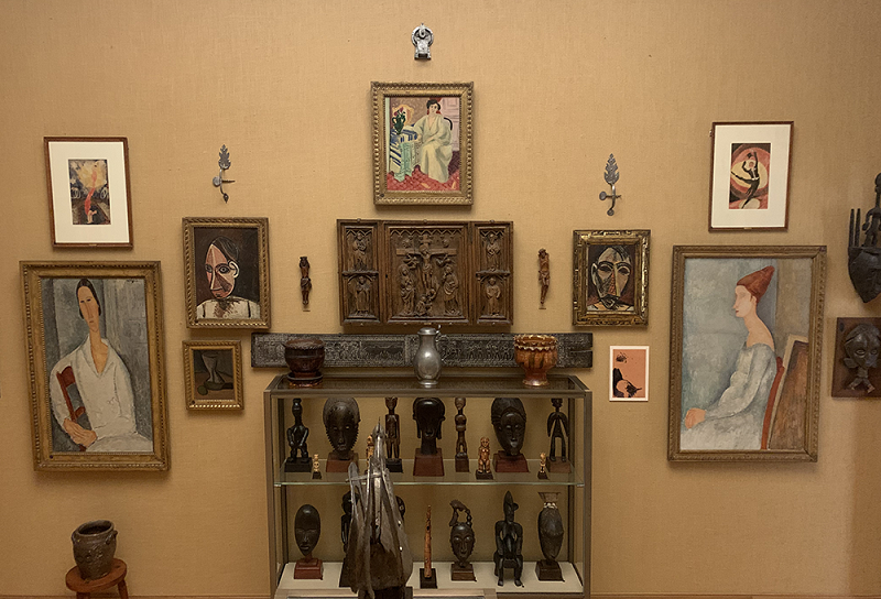 Ensemble of art at the Barnes Foundation, Room 22