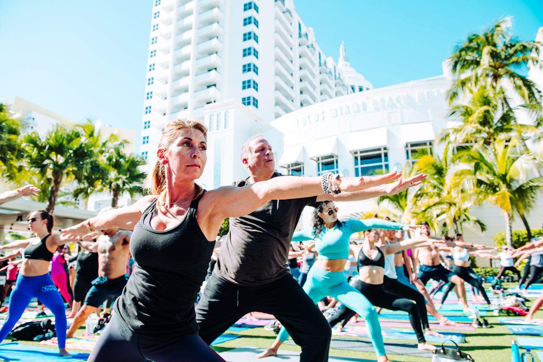 Art Basel Yoga