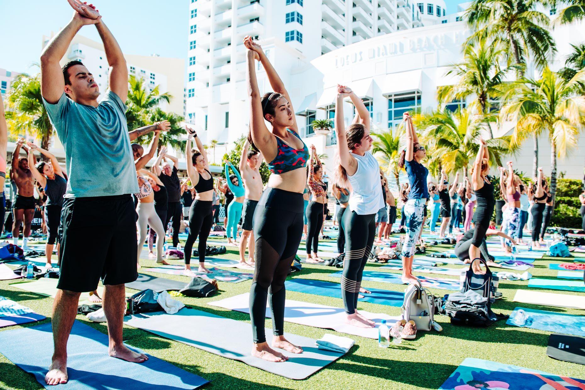 Art Basel Yoga|