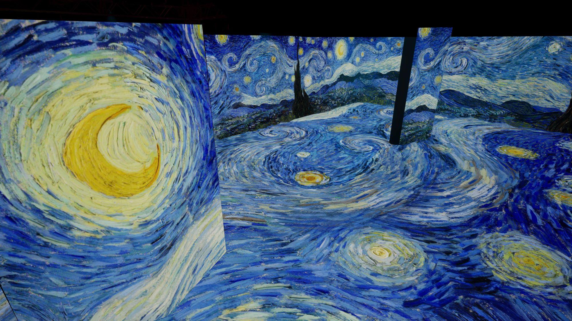 Flow with Van Gogh