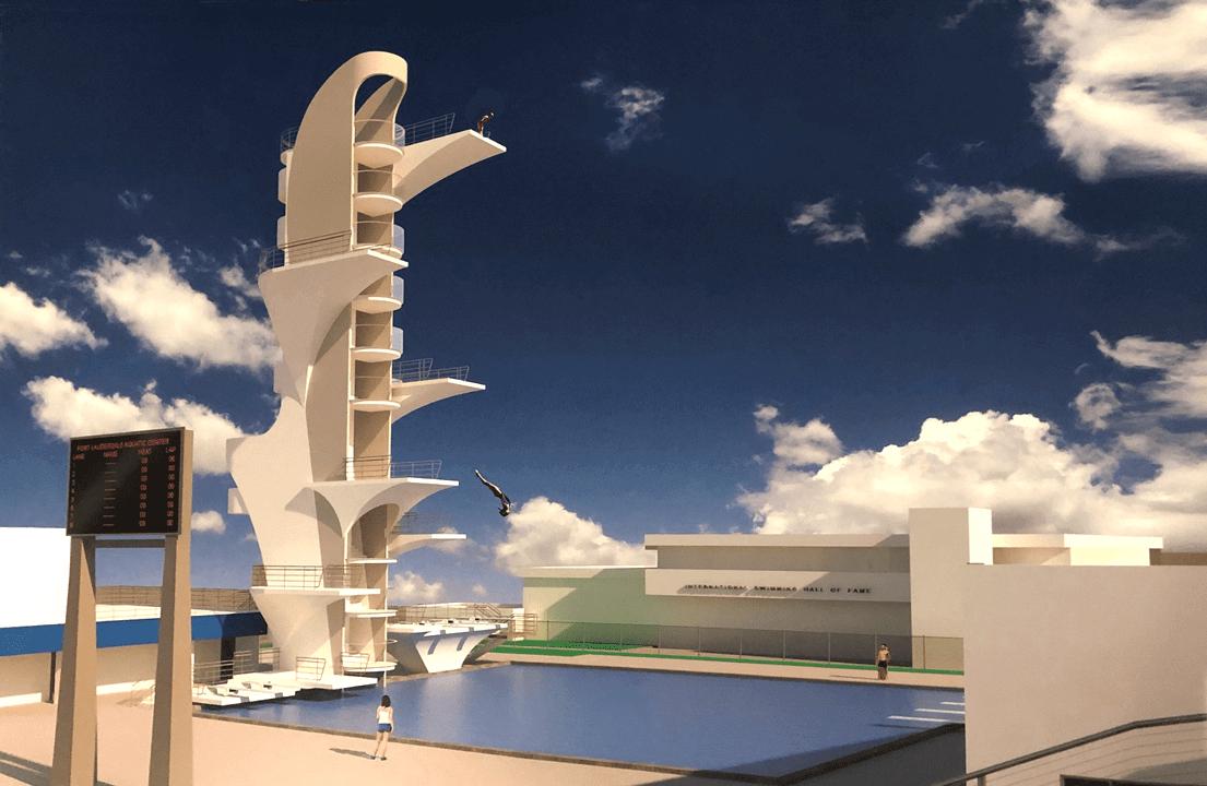 Dive Tower Fort Lauderdale Aquatic Center