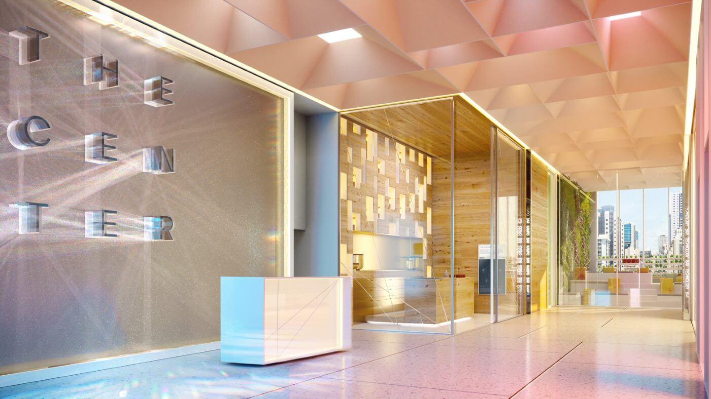Rendering of Miami Blue Zone Wellness Center