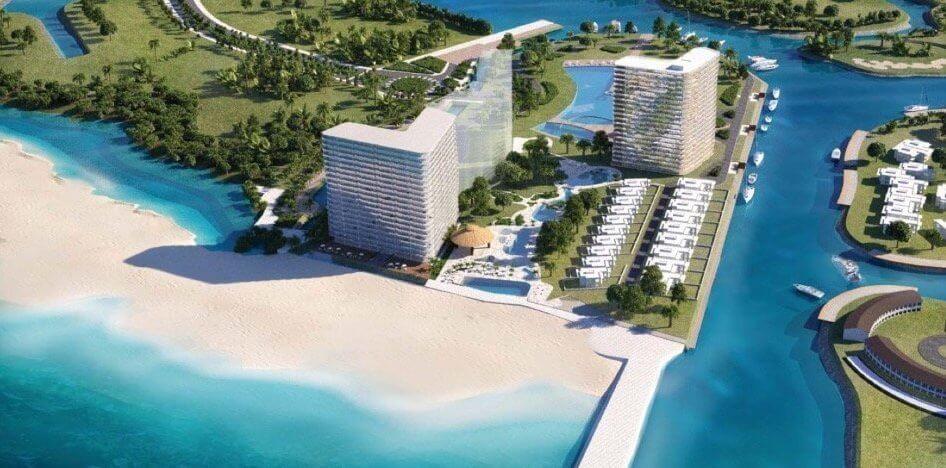 SLS Cancun beachfront in Mexico