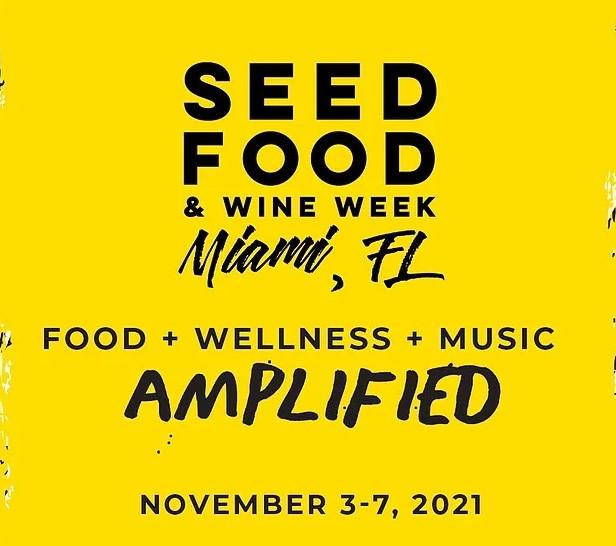 SEED Food Festival Flyer