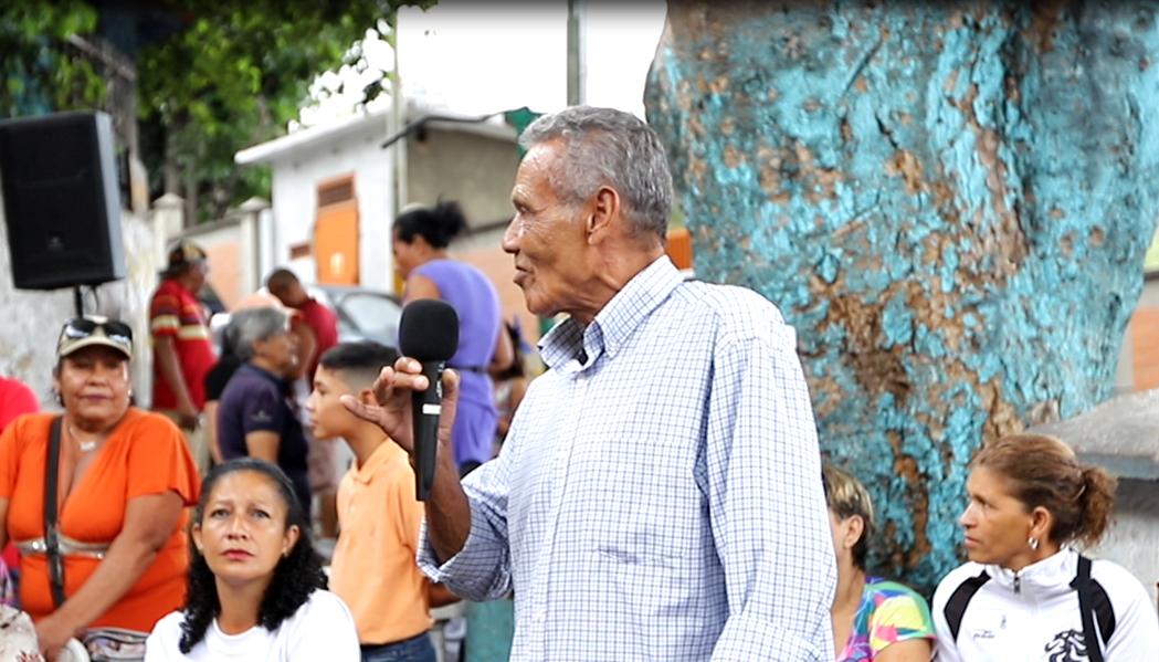 """Carlos """"El Niño"""" Lira en el Encuentro de los Fundadores de La Palomera, fotografía por Reguló Gómez"""