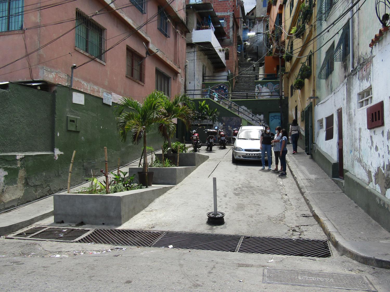 jardineras en la Calle Salom