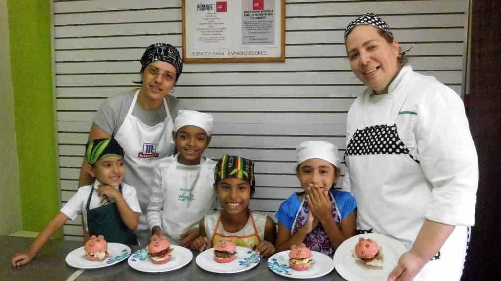 curso de gastronomía para niños