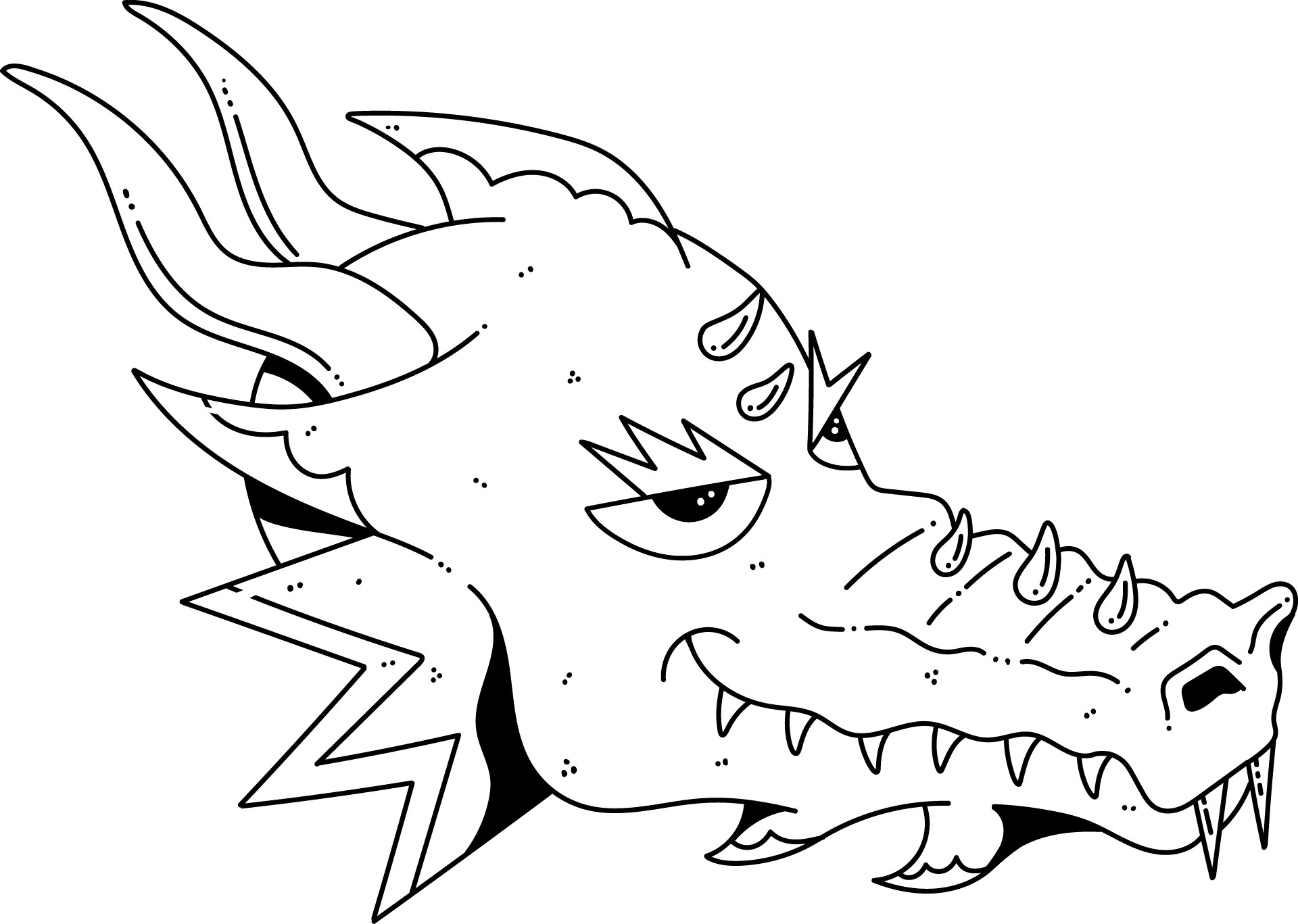 An illustration of our brand's Dragon