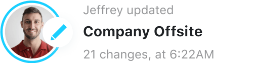 Jeffrey user activity log