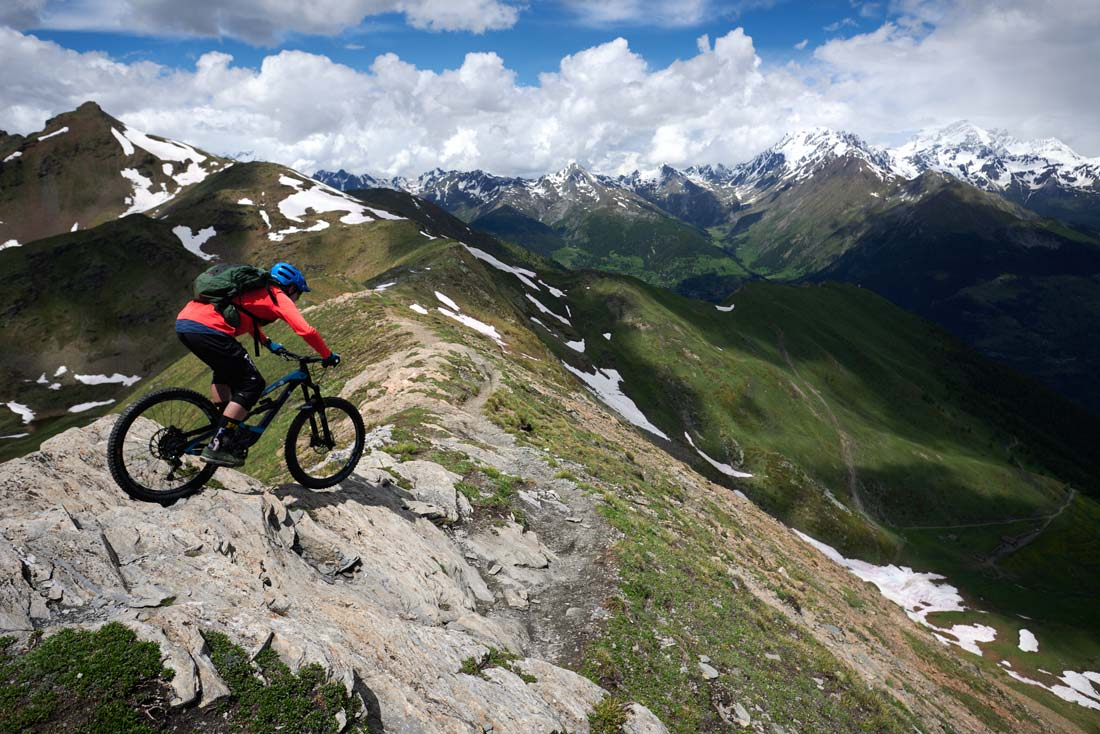 Classic Chamonix Mountain Biking