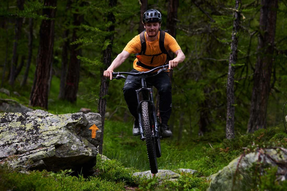 its all about having fun when you ride a mountain bike