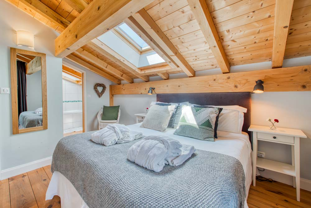 Double bedroom in Chalet Annabelle