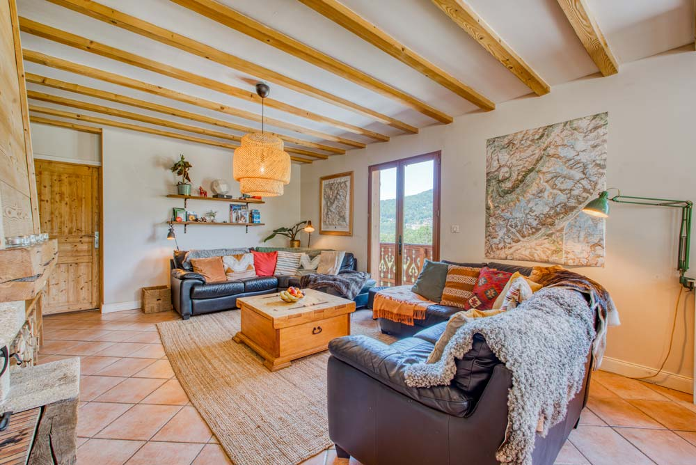 Living room in Chalet Annabelle