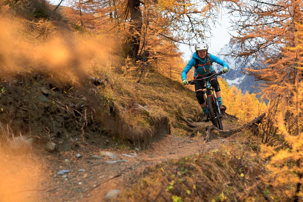 Chamonix is an enduro paradis for the avid mountain biker