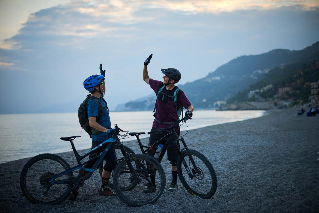 Bike and beach holiday in Italy