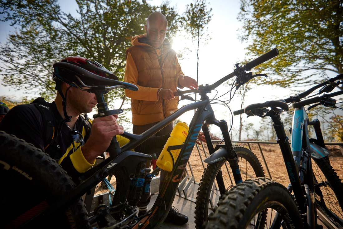 How to enjoy a mountain bike holiday