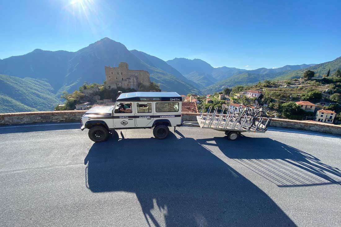 The best mountain bike shuttle service in Finale Ligure