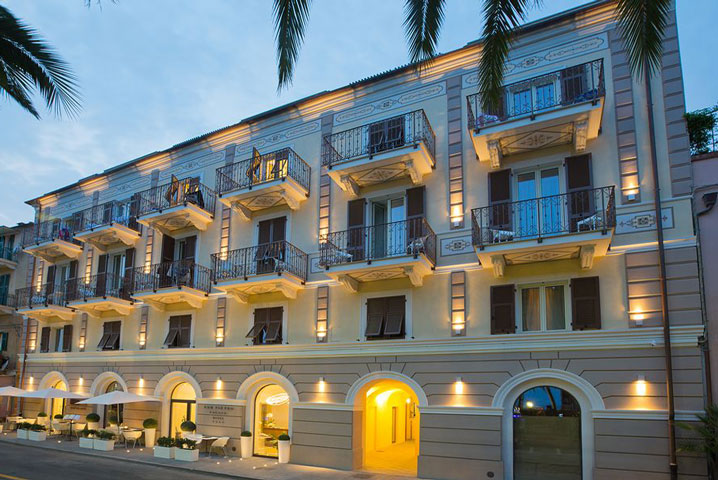 Hotel San Pietro Palace in Finale Ligure, Italy