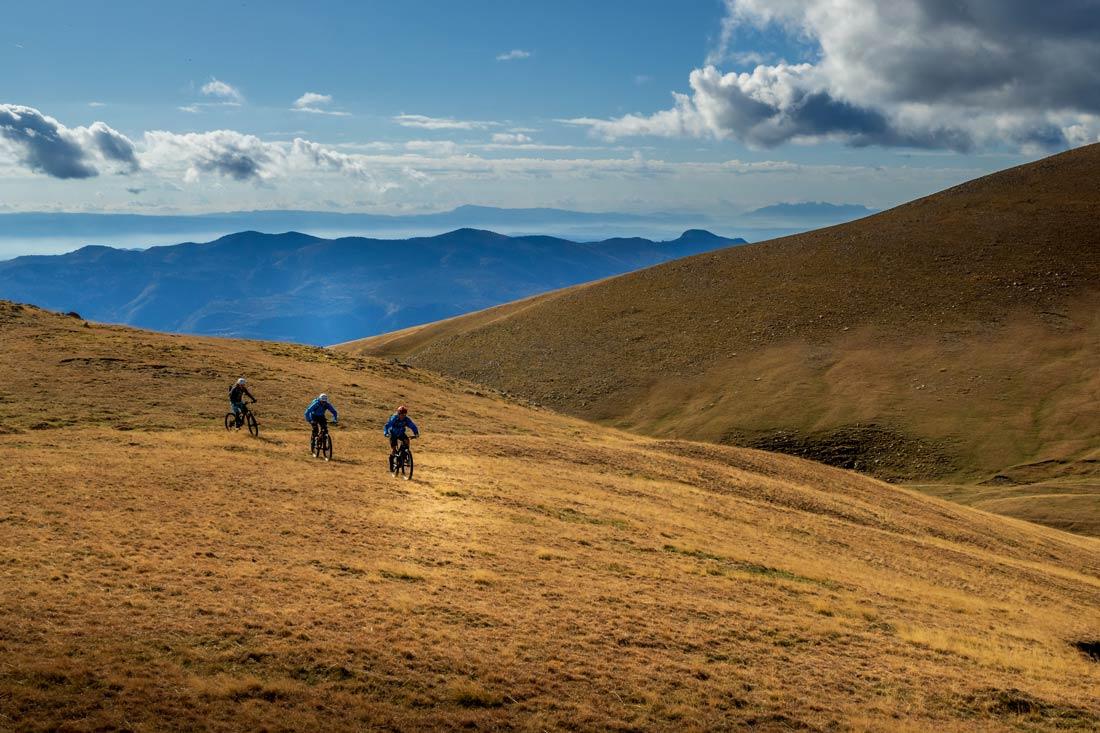 Typical alpine terrain in Berga