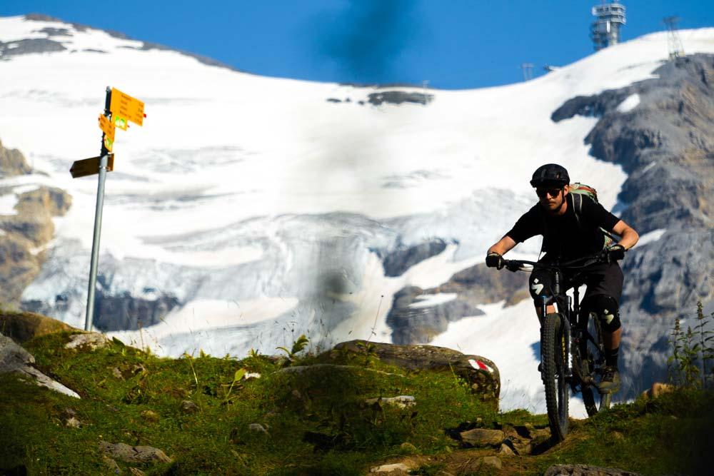 A mountain bikers dream