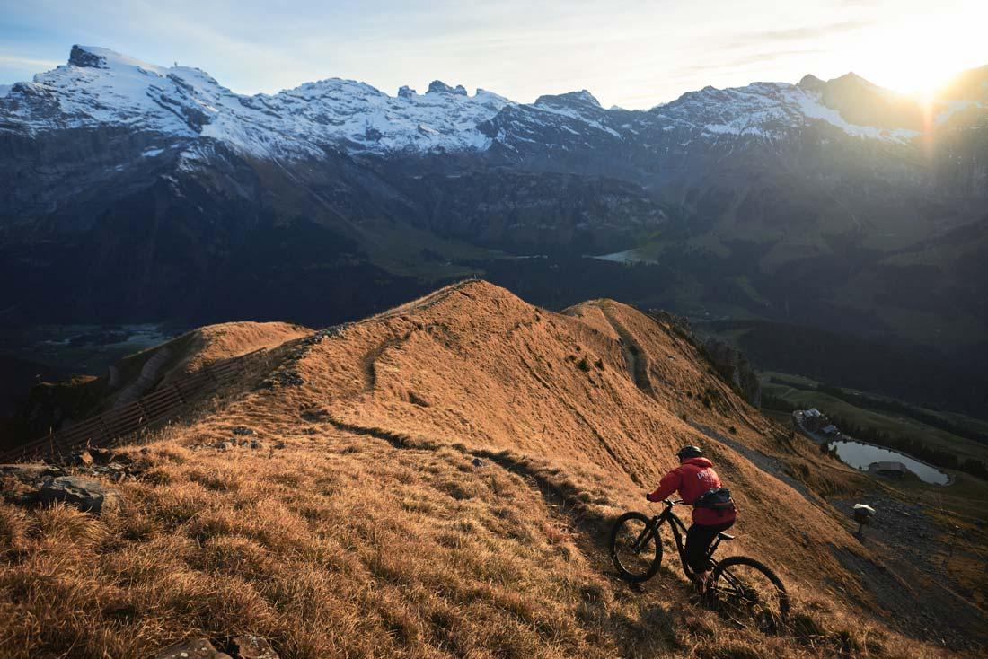 Classic Engelberg Mountain Biking
