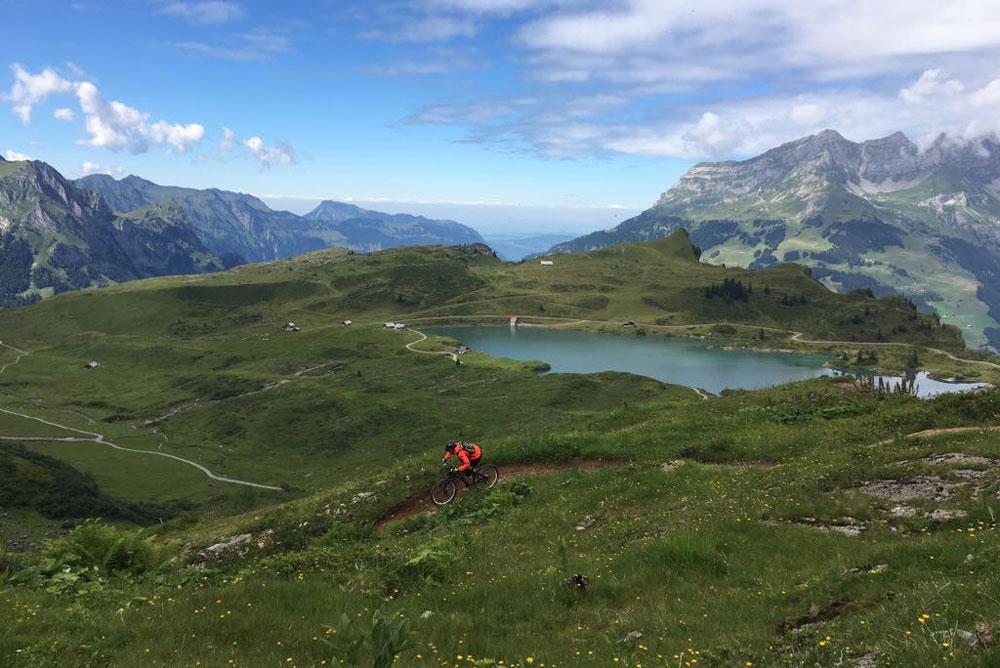 Lakes, mountain biking and delicious cheese