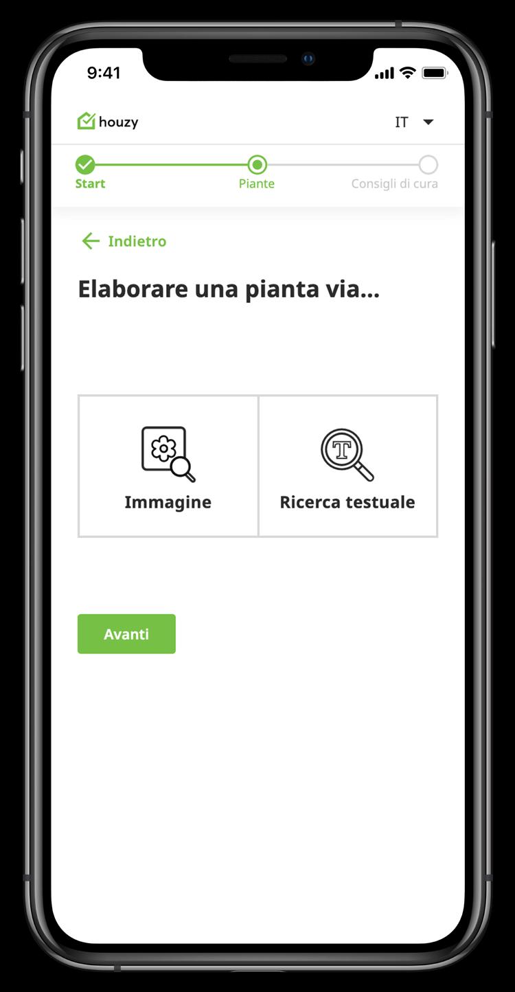 Pflanze erfassen auf Mobile
