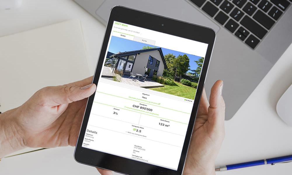 Vendere casa: pubblicare un annuncio online.