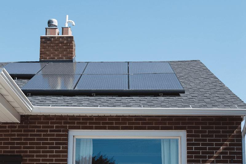 Pompa di calore e pannelli solari