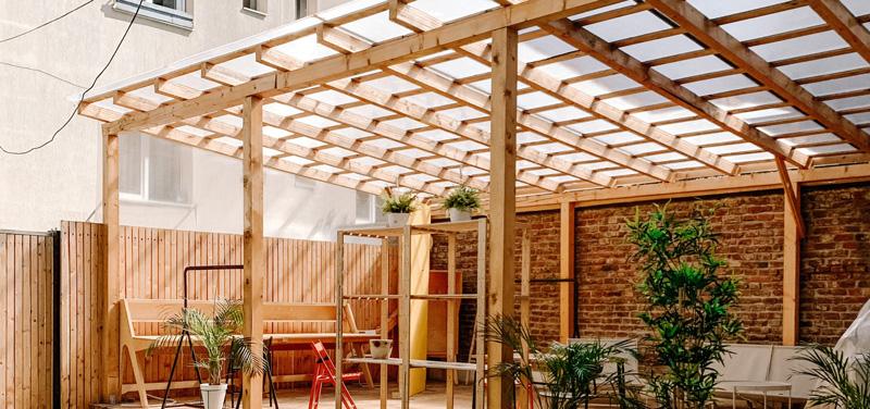 Migliorare il giardino con un gazebo o un pergolato