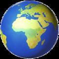 Smiley planète, symbolisant l'environnement et la cohérence