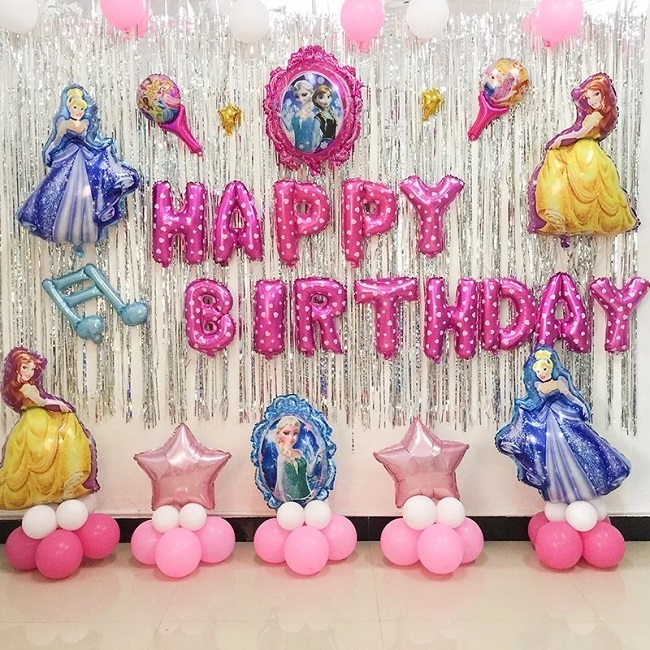 trang trí sinh nhật đơn giản tại nhà