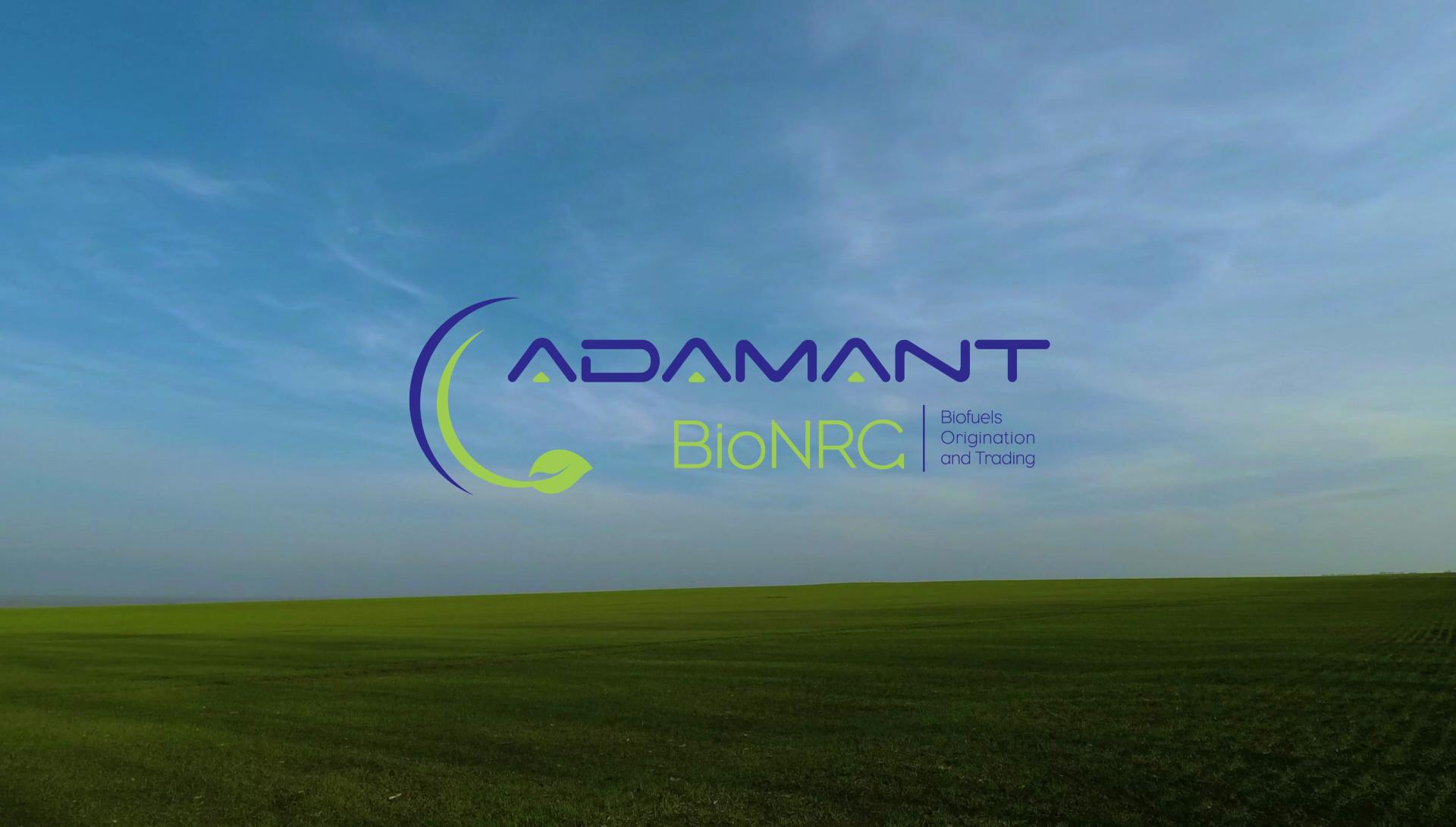 Football player kicking a ball with Adamant BioNRG Logo