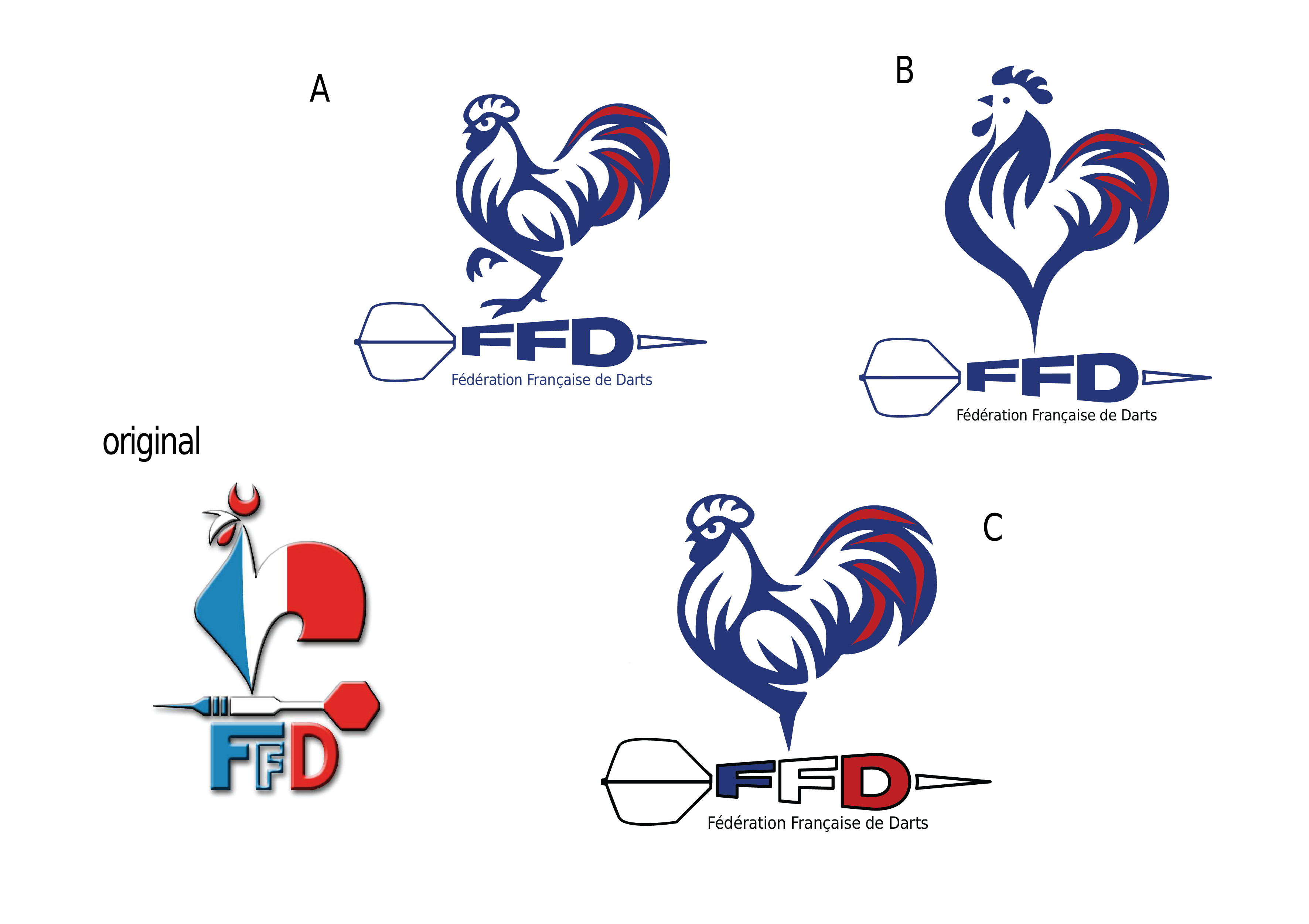 modification du logo de la FFDarts