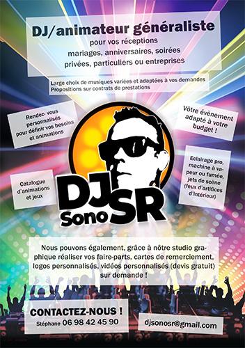 Flyer A5 DJSonoSR