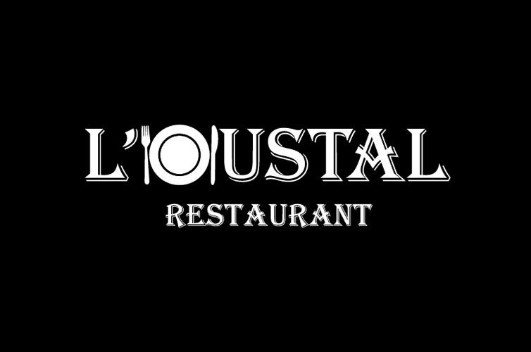 Logo restaurant L'OUSTAL