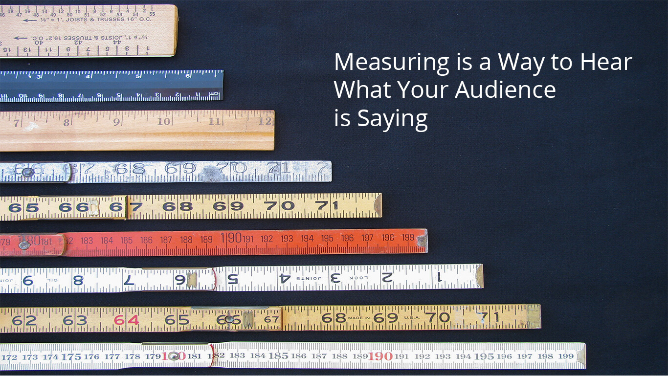 Measurement is key to understanding what your target audience is saying