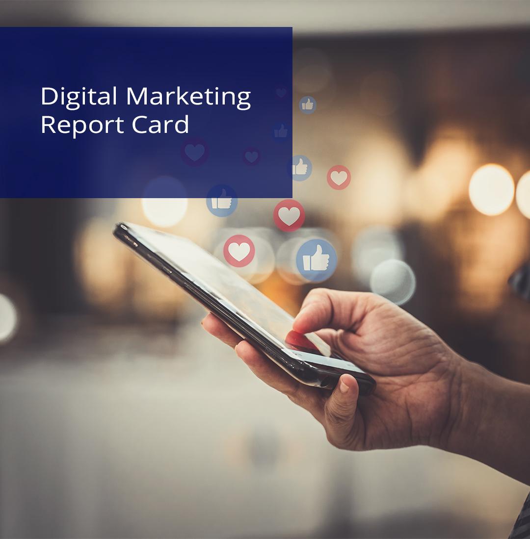 digital marketing report card